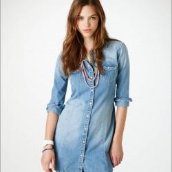 2016 Kot Gömlek Elbise Modeli