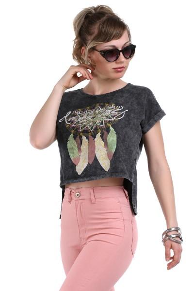 Önü Kısa Arkası Uzun Tişört Modelleri 2016