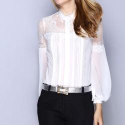 İşlemeli Şifon Bluz Siyah Pantolon Kombinleri