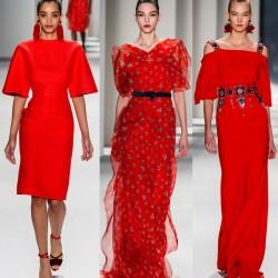 En Moda Kırmızı Elbise Modelleri 2016