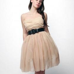 Kemer Detaylı Genç Elbise Modelleri 2016