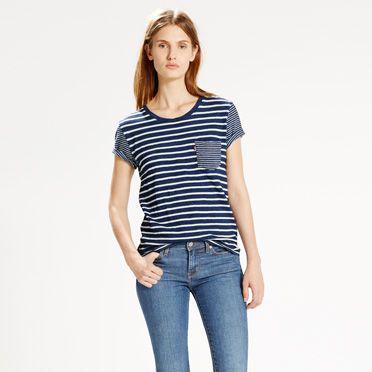 Levi's Tişört ve Jean Kombini