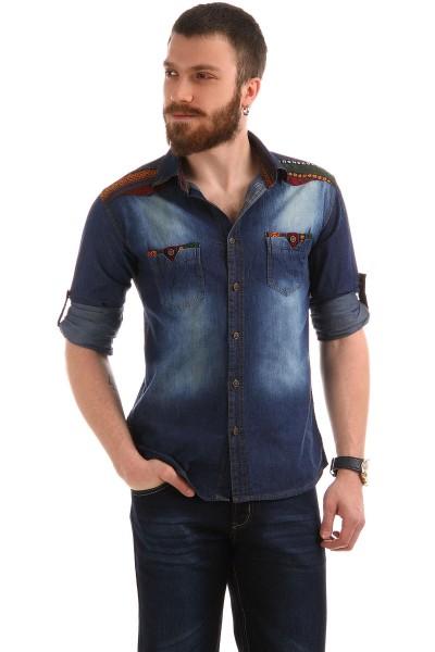 Patırtı Giyim Erkek Kot Gömlek Modelleri