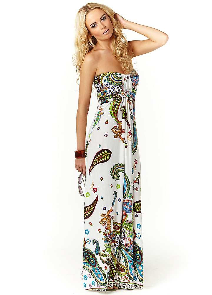 Straplez Yazlık Elbise Modelleri 2016