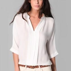 V Yaka En Şık 2016 Bluz Modelleri