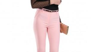 Yüksek Bel Kemer Detaylı Patırtı Pantolon Modeli 2016