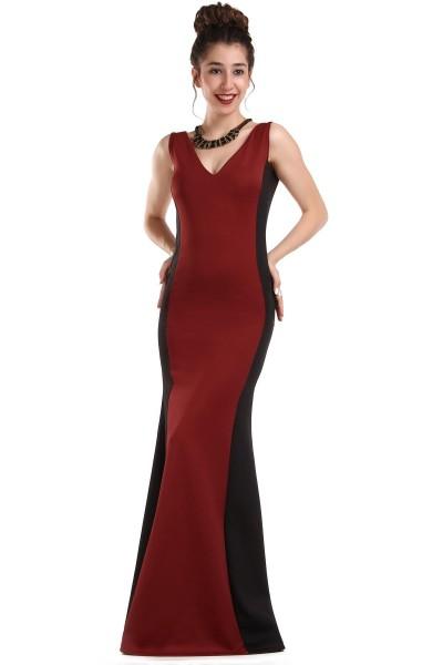 İki Renk Çok Şık Patırtı Giyim Abiye Modelleri 2016