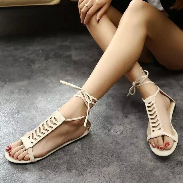 En Farklı Bayan Sandalet Modelleri 2016