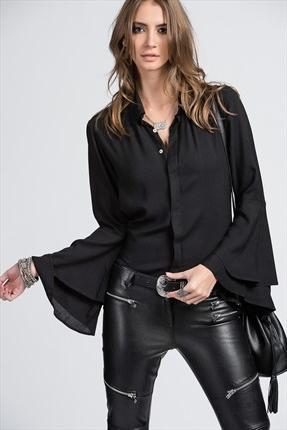 En Güzel İspanyol Kol Gömlek Kombinleri