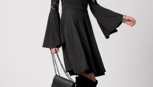 En Tarz İspanyol Kol Elbise Modelleri 2016