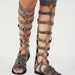 En Tarz Bayan Galdyatör Sandalet Modelleri 2016