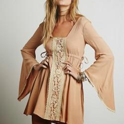 En Yeni İspanyol Kol Elbise Modelleri