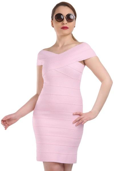 Pembe Renkli Patırtı Giyim Yazlık Elbise Modelleri 2016