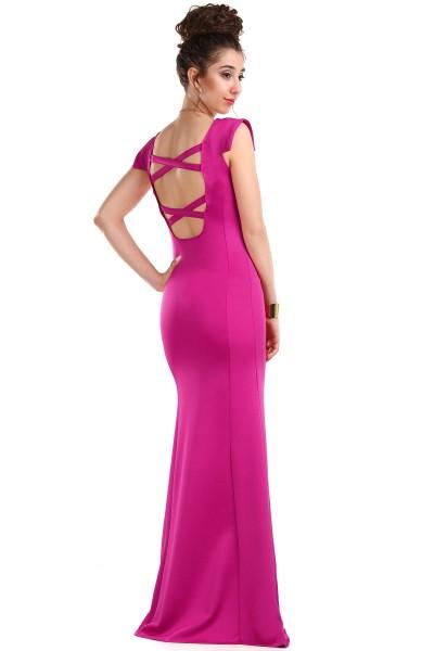 Sırt Dekolteli Çok Zarif Patırtı Giyim Abiye Modelleri 2016