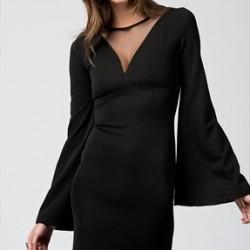 Sade ve Zarif İspanyol Kol Elbiseler 2016