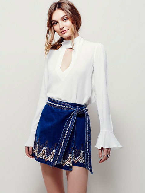 Yeni Trend İspanyol Kol Bluz Modelleri 2016
