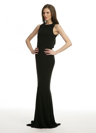 En Güzel Siyah Renkli Vakko Elbise Modelleri 2016