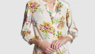 En Güzel Yeni Sezon 2016 Çiçek Desenli Bayan Gömlek Modelleri