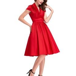 En Zarif Kırmızı Elbise Modelleri 2016