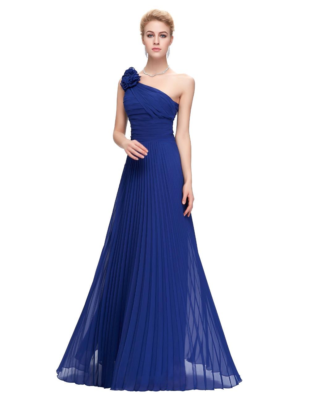 3a532af0e2b62 Saks Mavisi Çok Şık Askılı Abiye Modelleri 2016