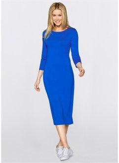 Saks Mavisi Uzun Kollu Elbise Modelleri 2016