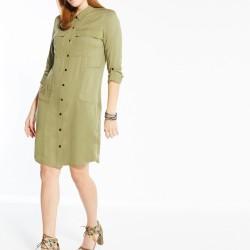 Uzun Kollu Gömlek Elbise Modelleri 2016