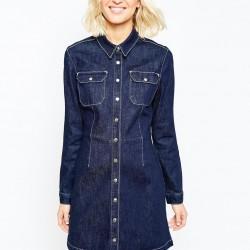 Uzun Kot Gömlek Elbise Modelleri 2016