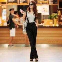 En Yeni Askılı Kumaş Pantolon Modelleri 2016