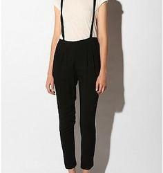 Klasik Askılı Kumaş Pantolon Modelleri 2016