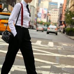 Sokak Modası Askılı Kumaş Pantolon Modelleri 2016