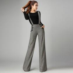 Yeni Sezon Askılı Kumaş Pantolon Modelleri 2016