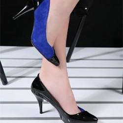 Çift renk Stiletto ayakkabı modelleri