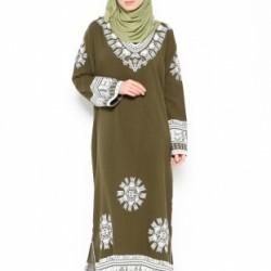 Çok Zarif etnik Desenli Elbise Modelleri