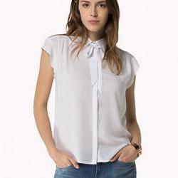 Beyaz Bayan Klasik Gömlek Modelleri 2016