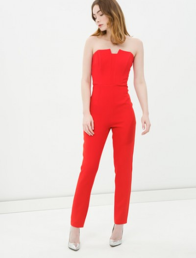 En İddialı Koton Straplez Tulum Elbise Modelleri 2016
