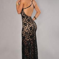 En İddialı Sırt Dekolteli Elbise Modelleri