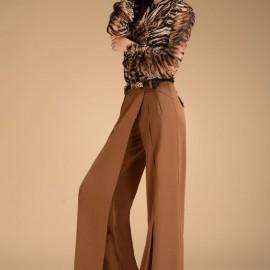 En Gösterişli Dökümlü Pantolon Modelleri