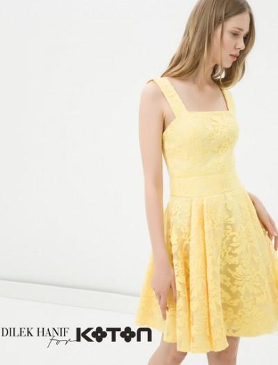 En Gösterişli Koton Elbise Modelleri 2016