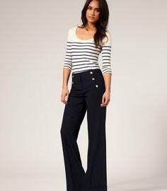 En Güzel Dökümlü Pantolon Modelleri