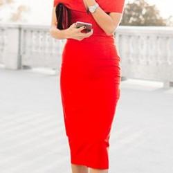 En Güzel Kalem Elbise Modelleri