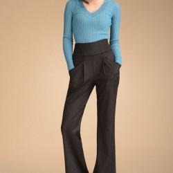En Tarz Dökümlü Pantolon Modelleri