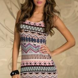 En Yeni Etnik Desenli Elbise Modelleri