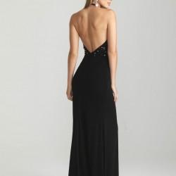 En Zarif Sırt Dekolteli Elbise Modelleri