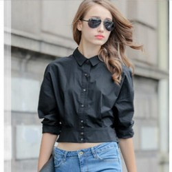 En tarz Bayan klasik Gömlek Modelleri 2016