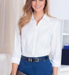 En zarif Bayan Klasik Gömlek Modelleri