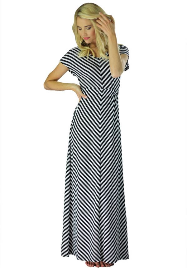 8a2d7cb0414d7 Kısa Kollu Uzun Elbise Modelleri 2016 »