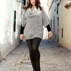 Kilolu Bayanlar İçin Tayt Pantolon Modelleri