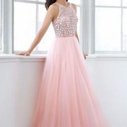 Pembe Balo Elbisesi Modelleri 2016