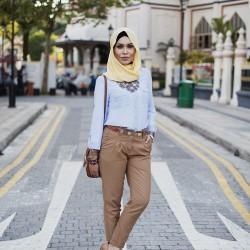 Sokak Modası Tesettür Giyim Modelleri