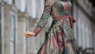 Yazlık Çok Şık Etnik Desenli Elbise Modelleri